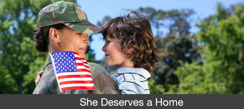 women veterans deserve a home